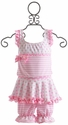 Chichanella Bella Candy Pink Confection Girls Swimsuit