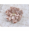 Classy Baby Angelica Flower Hair Clip Champagne