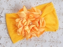Classy Baby Angelica Infant Yellow Flower Headband