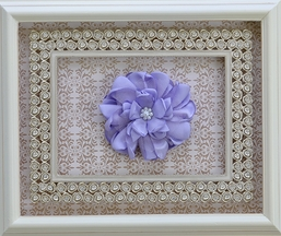 Classy Baby Girls Hairbow in Lilac