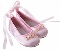 Coastal Projections Pink Infants Ballet Slippers