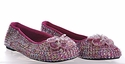 Coastal Projections Plum Sequins Girls Shoes