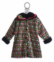 Corky Coats Fair Isle Girls Winter Coat