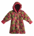 Corky Coats Floral Winter Coat for Little Girls