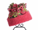 Corky Coats Flower Top Hat Blooms Away