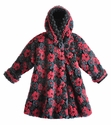 Corky Coats Girls Coat in Blooms Away Navy