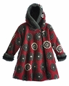 Corky Coats Holiday Red Girls Winter Coat