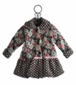 Corky Coats Pink Blooms Away Coat for Girls