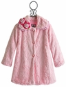 Corky Coats Pink Faux Fur Sweet Pea Coat