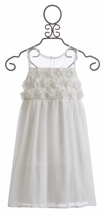 Derhy Kids Summer Dress in Sandrine White (8/10 & 10/12)