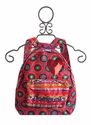 Desigual Backpack for Girls in Fuchsia Circles