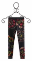 Desigual Black Leggings with Butterflies