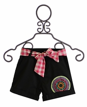 Desigual Black Shorts for Tweens (7/8 & 11/12)
