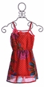 Desigual Chiffon Red Dress for Girls