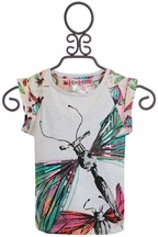 Desigual Dragonfly Girls Shirt