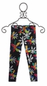 Desigual Flower Print Girls Leggings