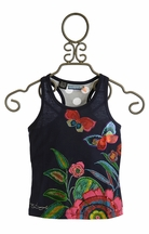 Desigual Flower Tank Top for Girls (5/6 & 7/8)