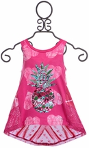 Desigual Fuchsia Tank with Pineapple
