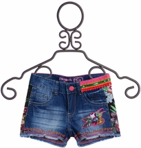 Desigual Girls Denim Shorts