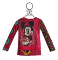 Desigual Girls Disney Top with Minnie Mouse