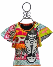 Desigual Kids Animal Print T-Shirt