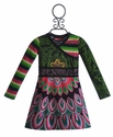 Desigual Kids Dresses - Green Kaleidoscope