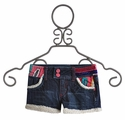 Desigual Kids Shorts Fleece Lined Denim (4, 7/8, 9/10)