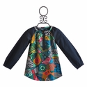 Desigual Kids Tunic in Navy Print