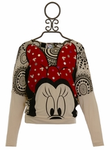 Desigual Minnie Mouse Top for Girls (7/8 & 9/10)