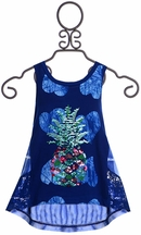 Desigual Pineapple Top in Navy