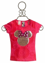 Desigual Red Minnie Mouse Shirt (4 & 5/6)