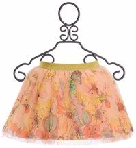 Desigual Tulle Skirt Floral Print