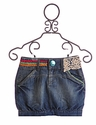 Desigual Tween Denim Skirt Short Bubble