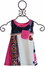Desigual Tween Tank Top with Sequins