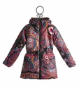 Desigual Winter Coat for Girls in Kaleidoscope