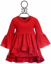 DollBaby Whirlwind Top Red (5,6,10)