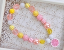 DreamSpun Pink Lemonade Little Girls Necklace