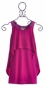 Elisa B Designer Tween Dress in Magenta