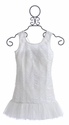 Elisa B Ivory Lights Tween Party Dress