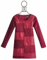 Elisa B Magenta Checkered Tween Dress