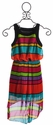Elisa B Super Stripes Tween Maxi Dress