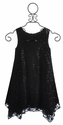 Elisa B Tween Black Dress for Parties