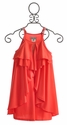 Elisa B Tween Dress in Coral (Size 7)
