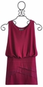 Elisa B Tween Party Dress in Magenta