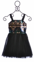 Elisa B Tween Sequin Dress for Parties Black