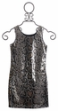 Elisa B Tween Sheath Dress Sequin Snake
