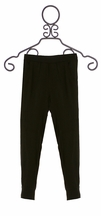 Ella Moss Black Athletic Knit Pants (12 & 14)