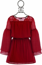 Ella Moss Girls Red Dress for Parties