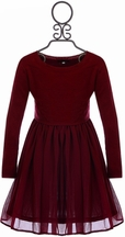 Ella Moss Party Dress for Tween Red (Size 7/8 & 10)