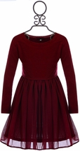 Ella Moss Party Dress for Tween Red